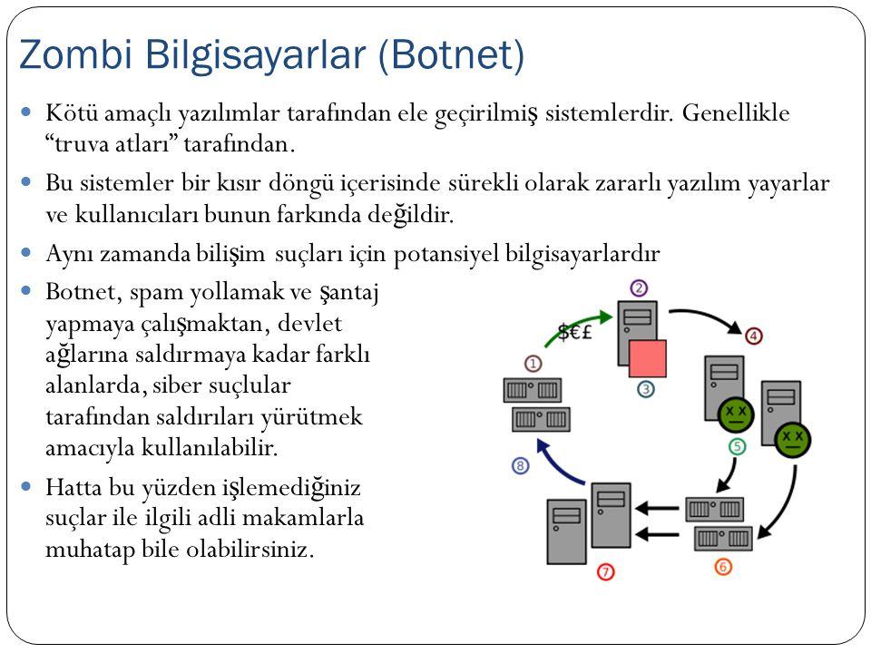 Zombi Bilgisayarlar (Botnet)