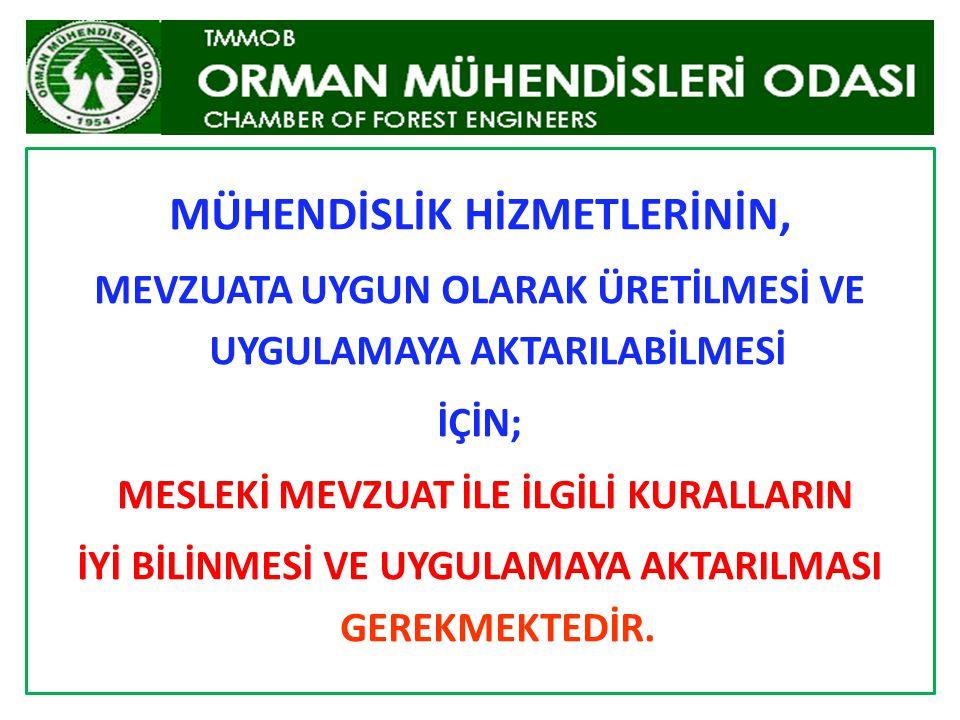 MÜHENDİSLİK HİZMETLERİNİN,