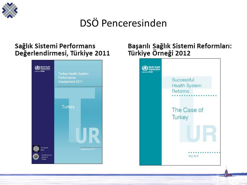 DSÖ Penceresinden Sağlık Sistemi Performans Değerlendirmesi, Türkiye 2011.