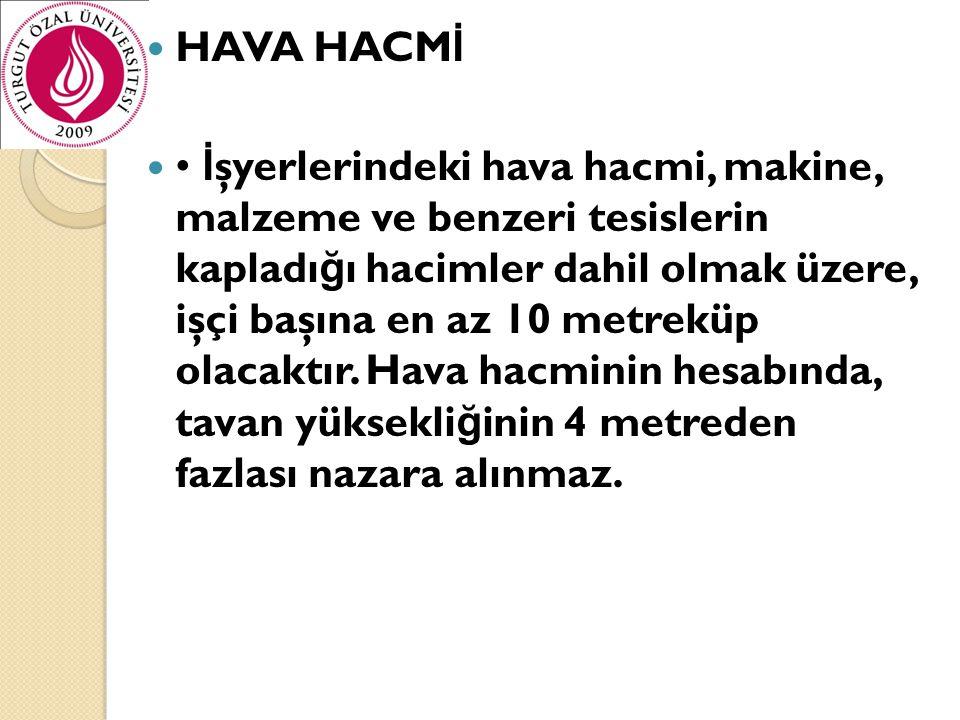 HAVA HACMİ