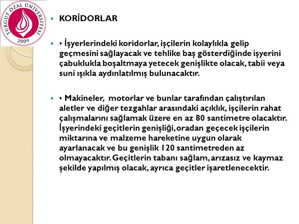 KORİDORLAR