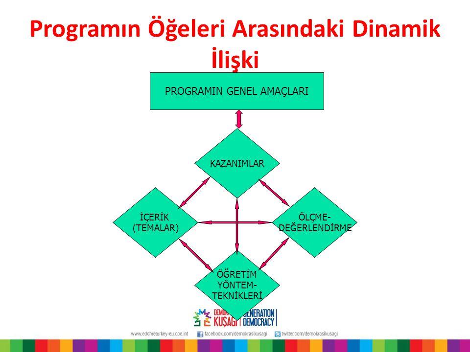 Programın Öğeleri Arasındaki Dinamik İlişki