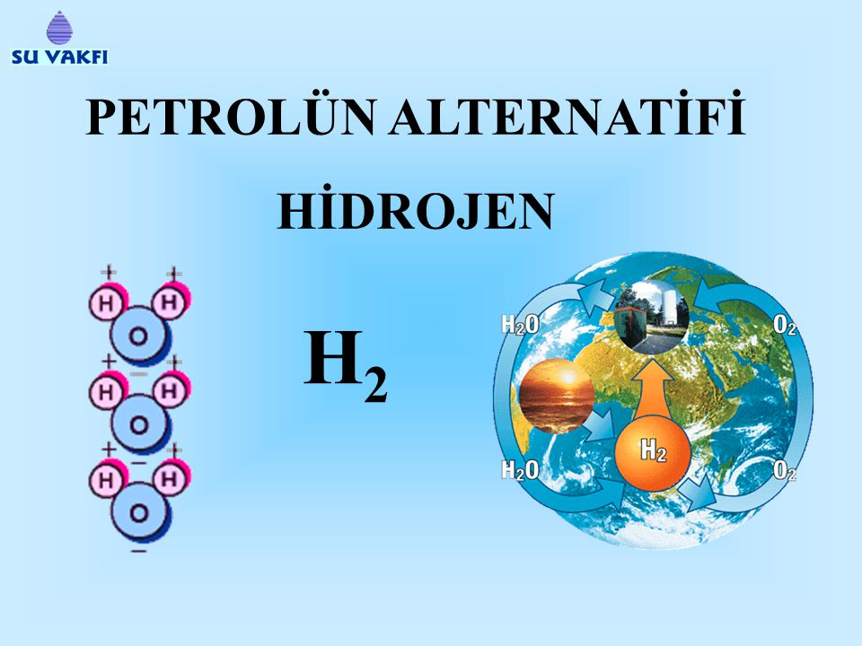 PETROLÜN ALTERNATİFİ HİDROJEN H2