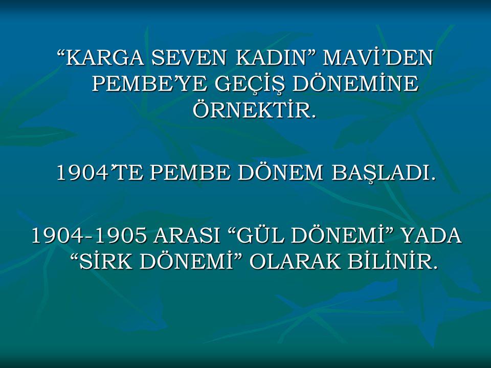 KARGA SEVEN KADIN MAVİ'DEN PEMBE'YE GEÇİŞ DÖNEMİNE ÖRNEKTİR.