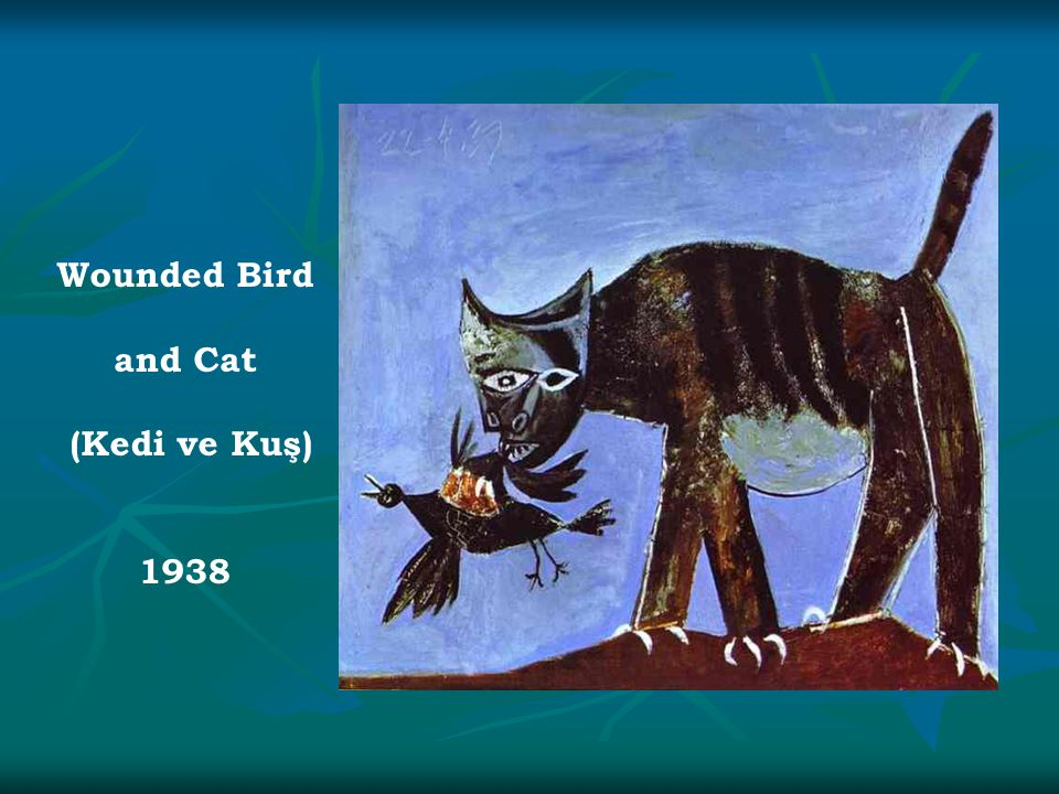 Wounded Bird and Cat (Kedi ve Kuş) 1938
