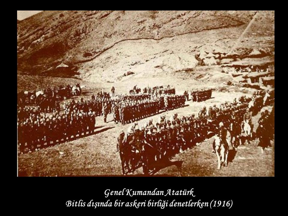 Genel Kumandan Atatürk