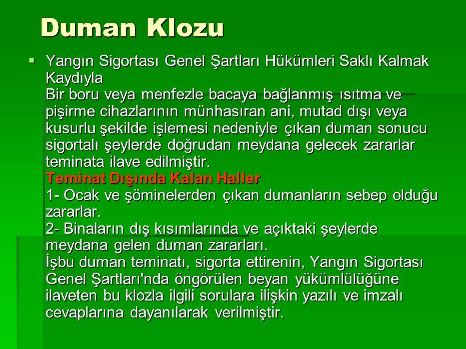 Duman Klozu