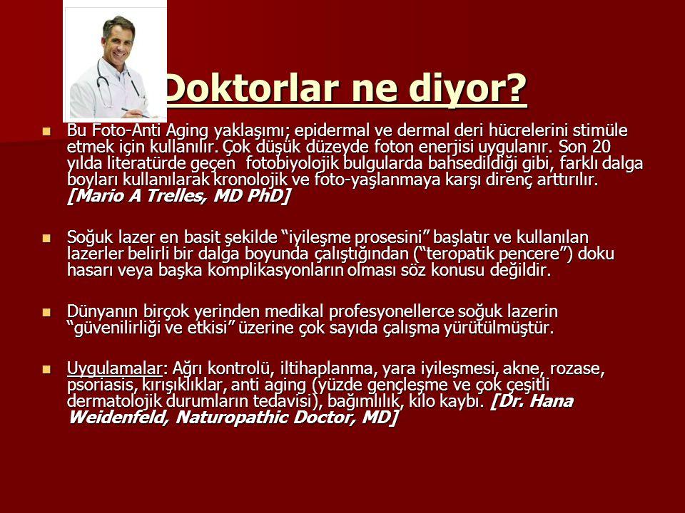 Doktorlar ne diyor