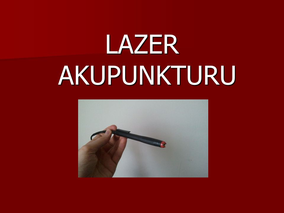 LAZER AKUPUNKTURU