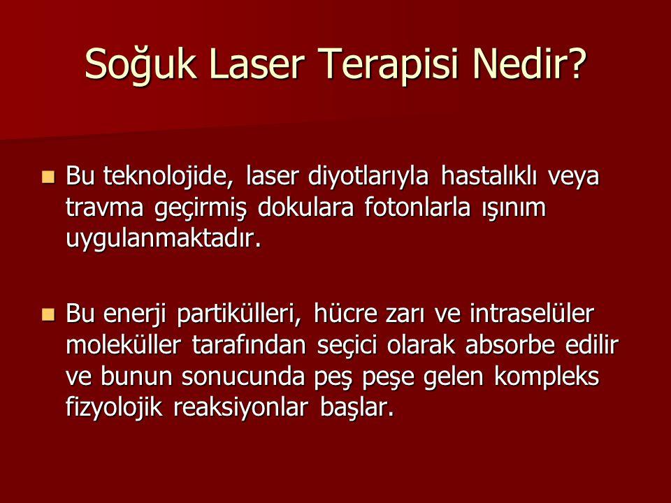 Soğuk Laser Terapisi Nedir