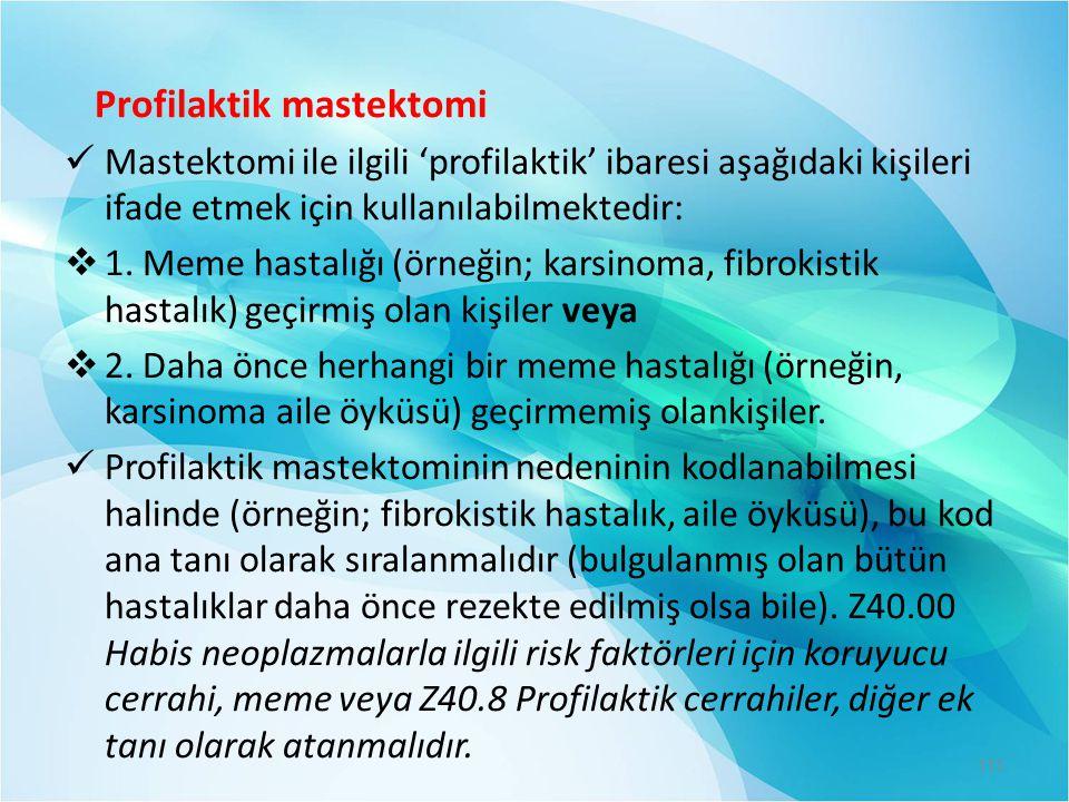 Profilaktik mastektomi