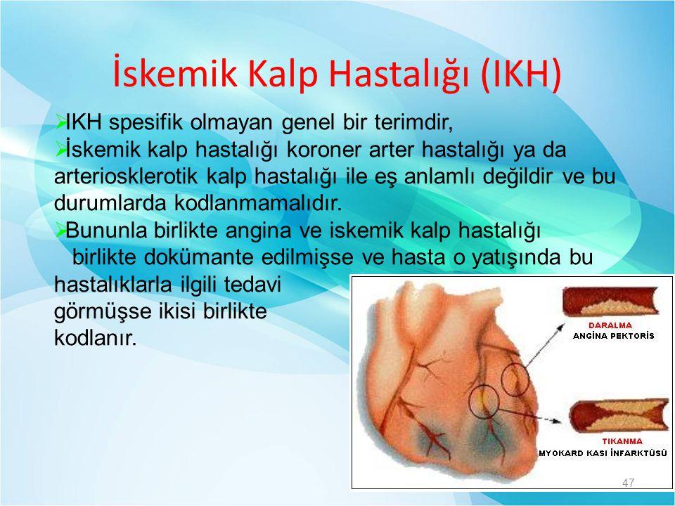 İskemik Kalp Hastalığı (IKH)