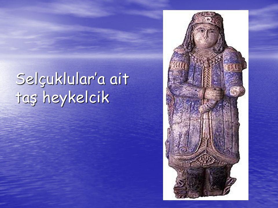 Selçuklular'a ait taş heykelcik
