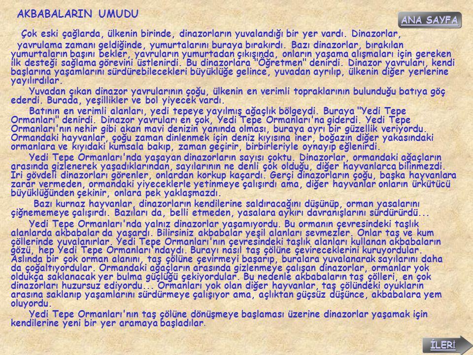 AKBABALARIN UMUDU ANA SAYFA