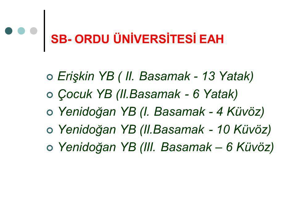 SB- ORDU ÜNİVERSİTESİ EAH