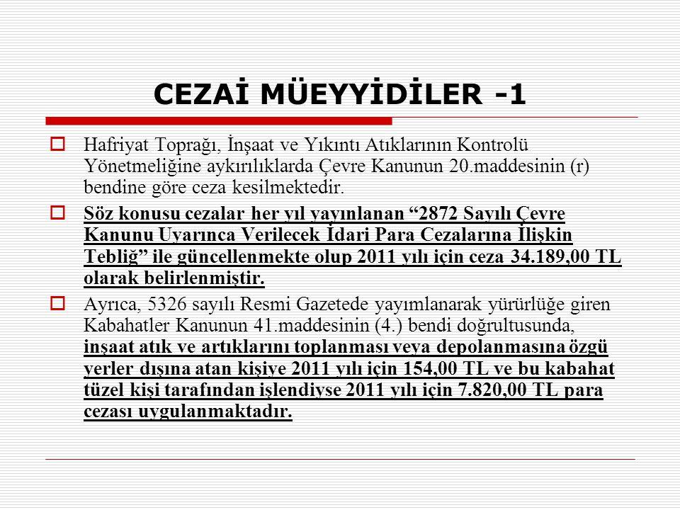 CEZAİ MÜEYYİDİLER -1