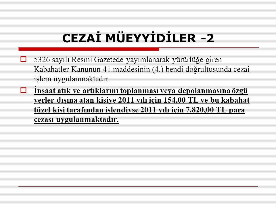 CEZAİ MÜEYYİDİLER -2