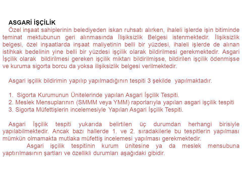 ASGARİ İŞÇİLİK
