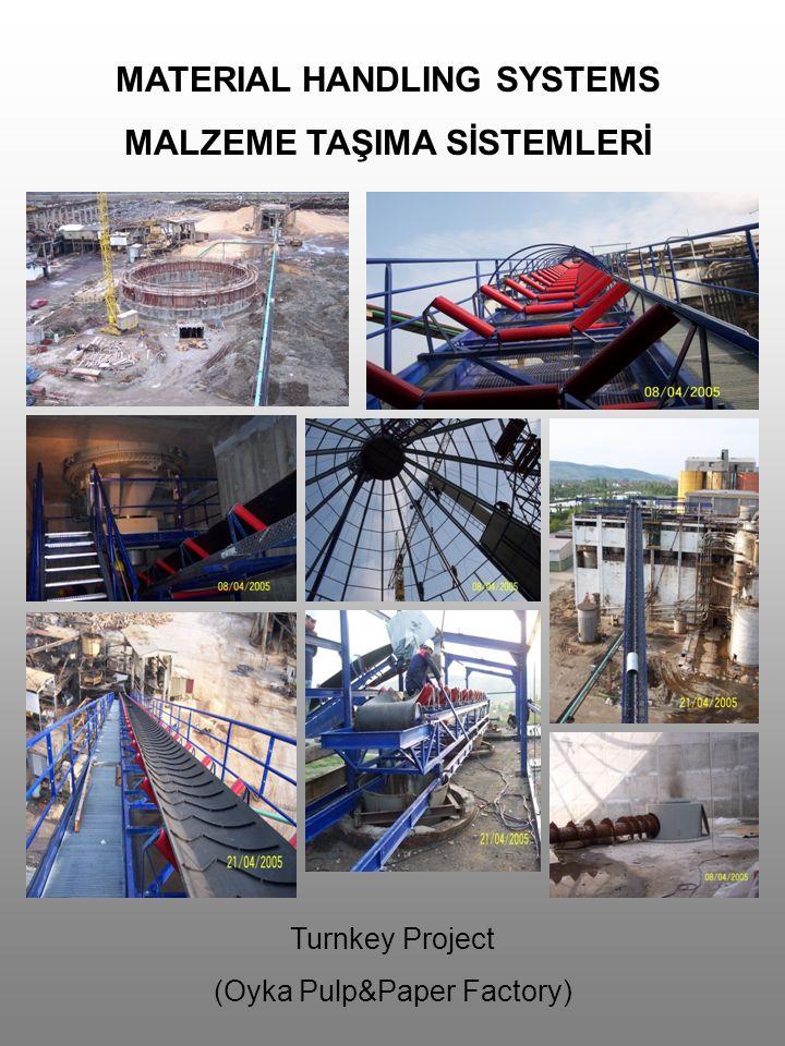 MATERIAL HANDLING SYSTEMS MALZEME TAŞIMA SİSTEMLERİ