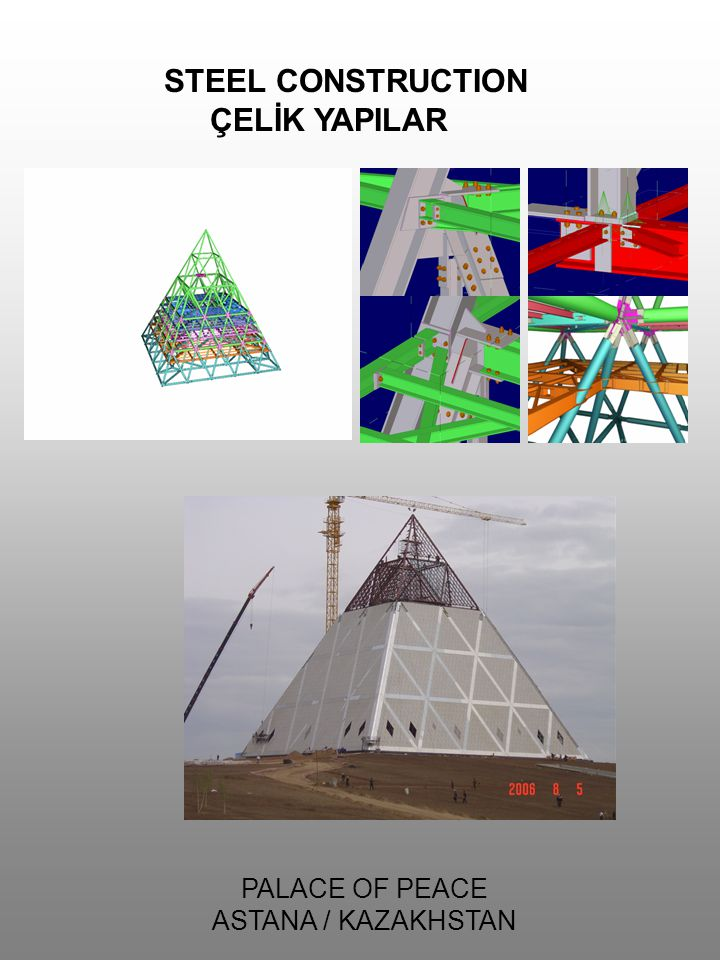 STEEL CONSTRUCTION ÇELİK YAPILAR