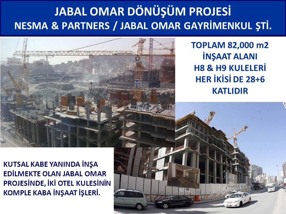 JABAL OMAR DÖNÜŞÜM PROJESİ NESMA & PARTNERS / JABAL OMAR GAYRİMENKUL ŞTİ.