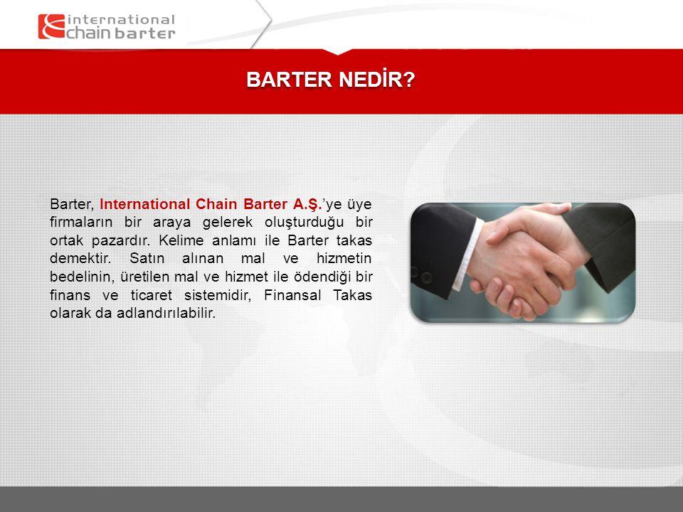 BARTER NEDİR