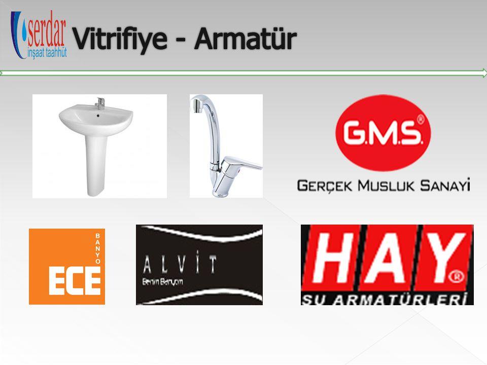 Vitrifiye - Armatür