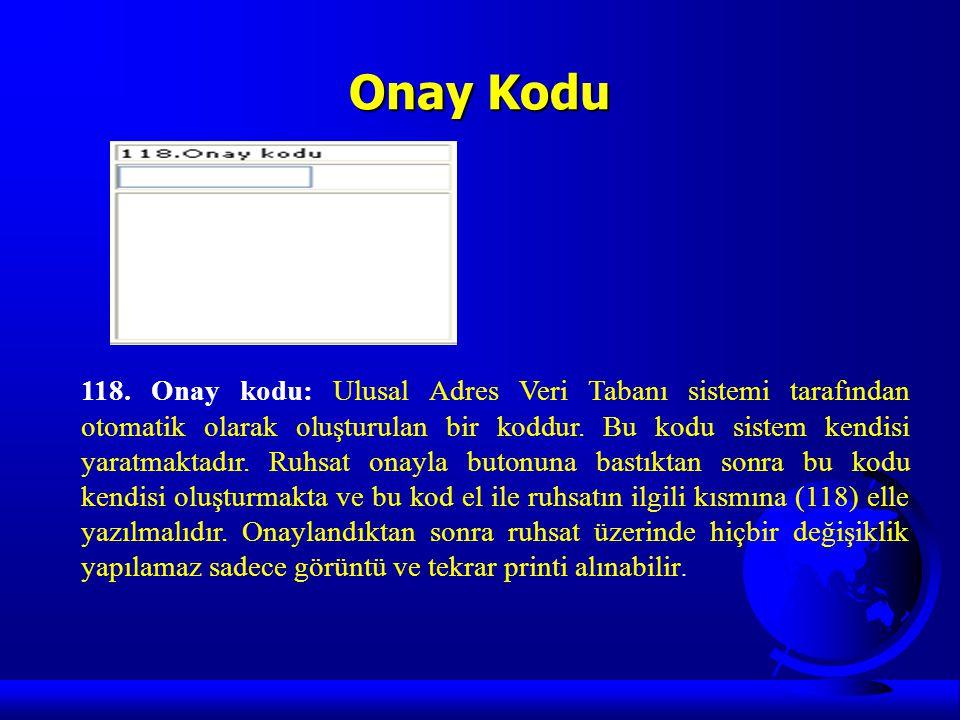 Onay Kodu