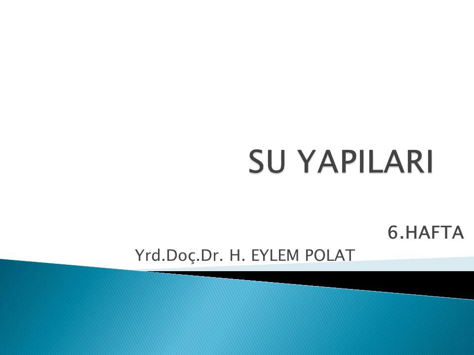 6.HAFTA Yrd.Doç.Dr. H. EYLEM POLAT