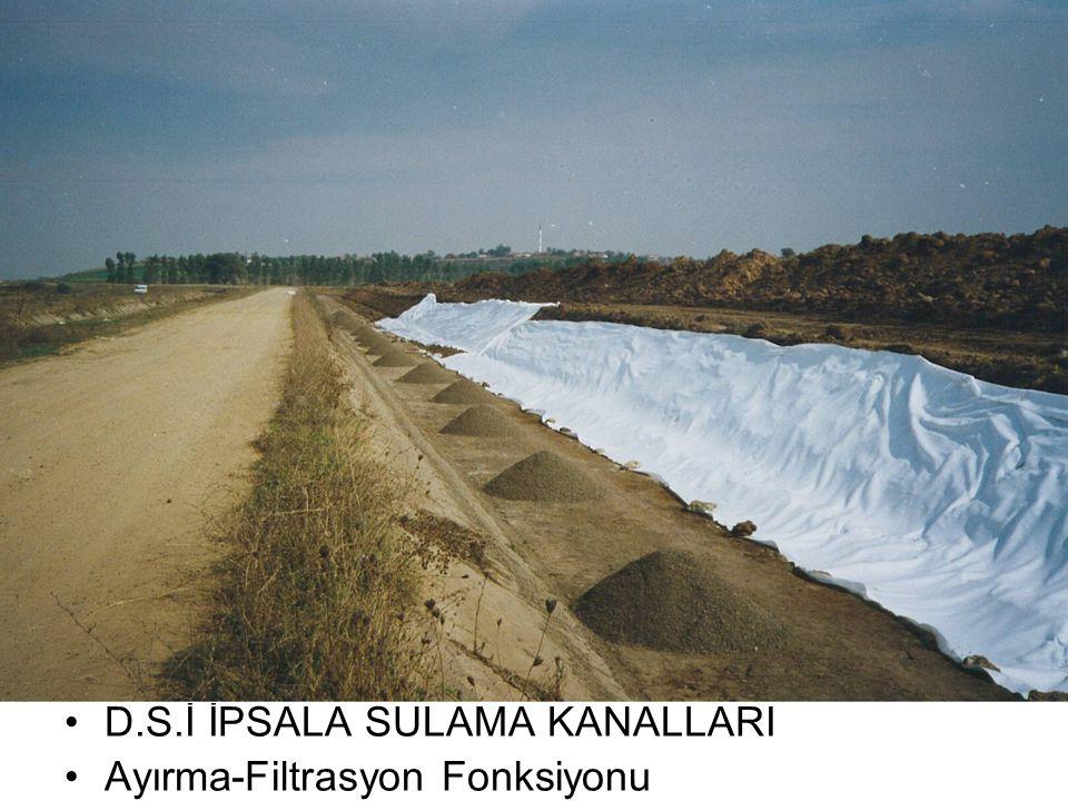 D.S.İ İPSALA SULAMA KANALLARI