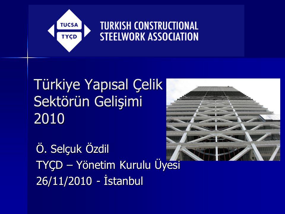 Türkiye Yapısal Çelik Sektörün Gelişimi 2010