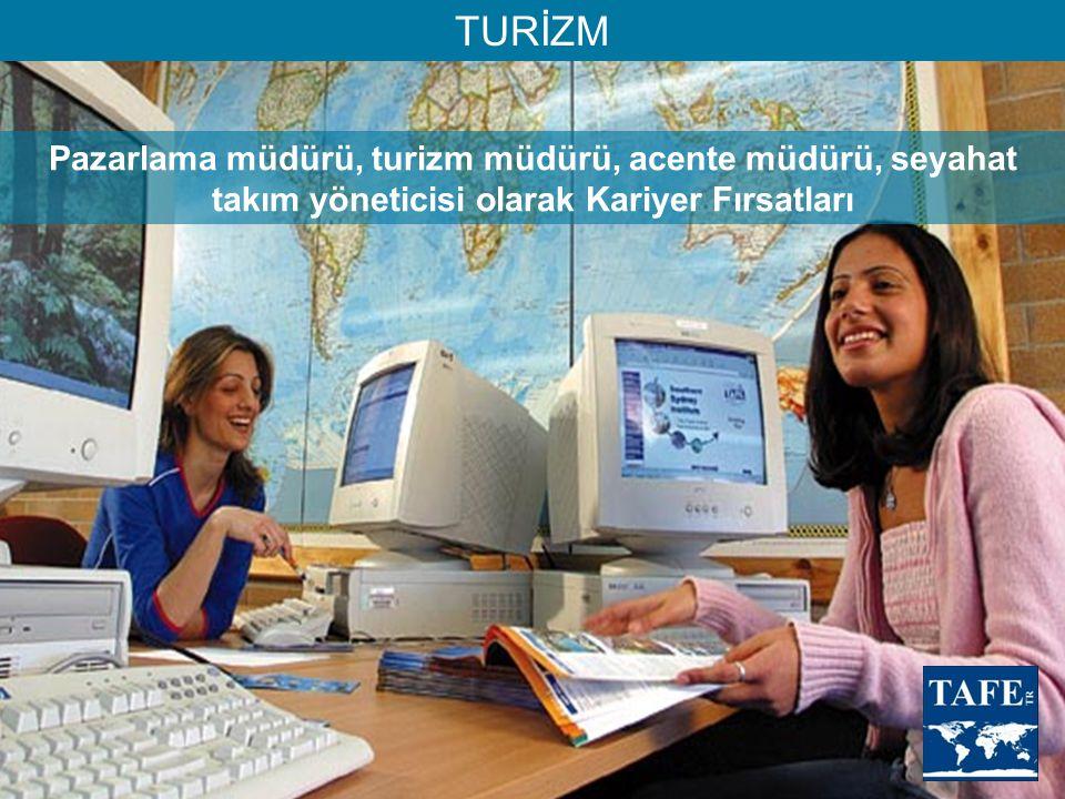 TURİZM Pazarlama müdürü, turizm müdürü, acente müdürü, seyahat takım yöneticisi olarak Kariyer Fırsatları.