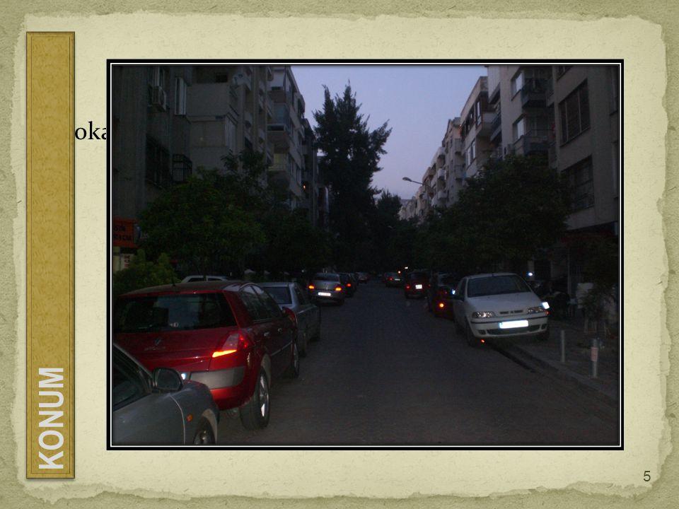 Sokak görüntüsü KONUM