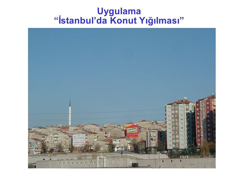 İstanbul'da Konut Yığılması