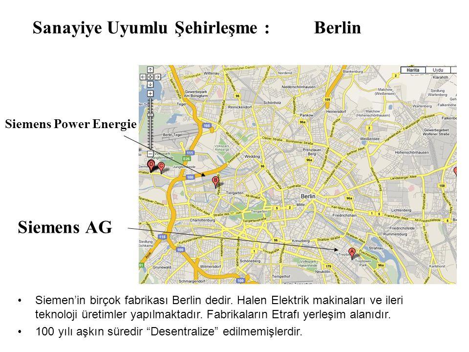 Sanayiye Uyumlu Şehirleşme : Berlin