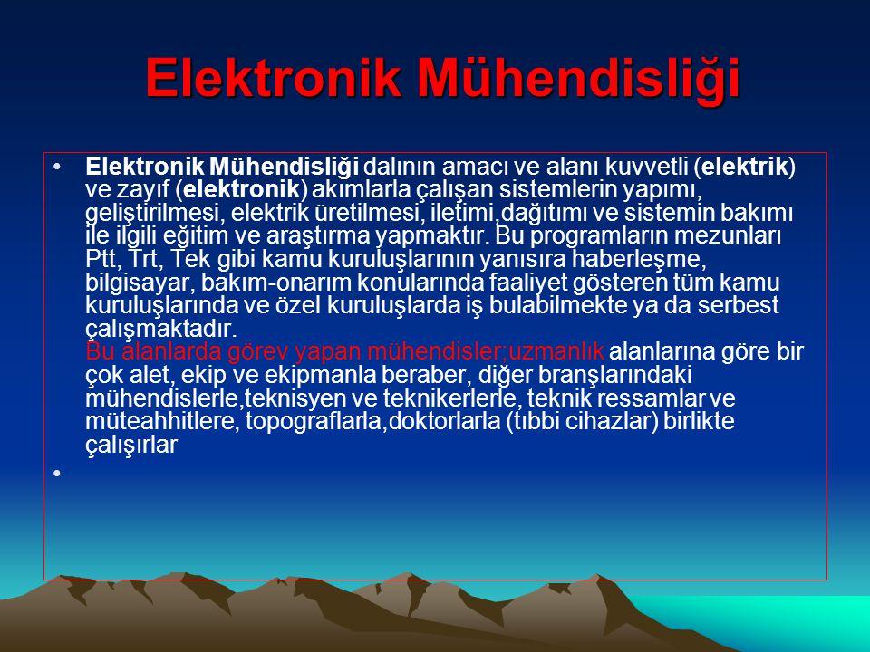 Elektronik Mühendisliği