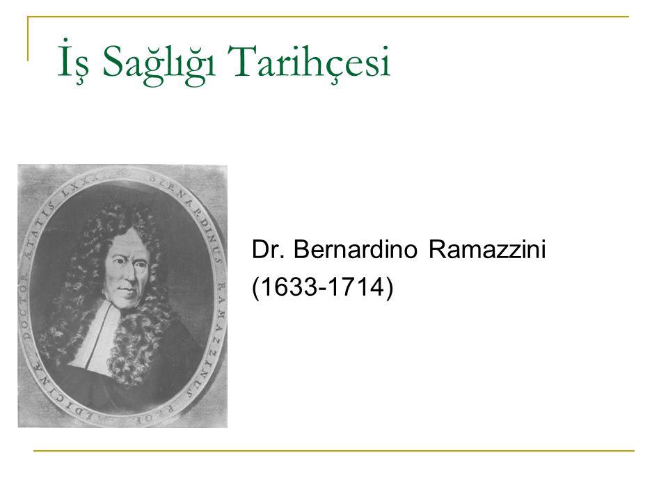 Dr. Bernardino Ramazzini (1633-1714)
