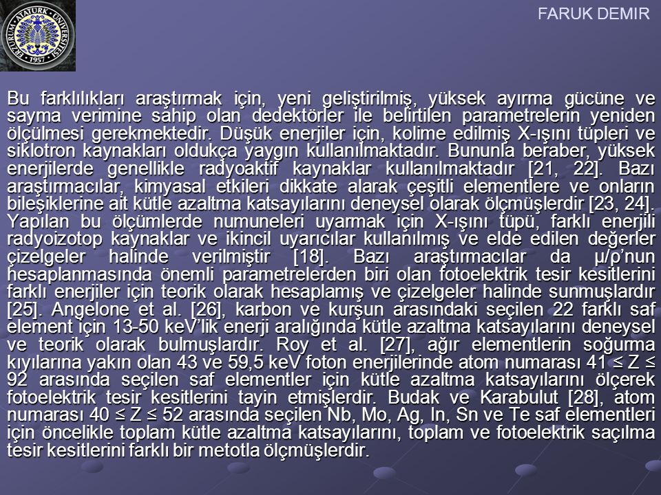 FARUK DEMIR