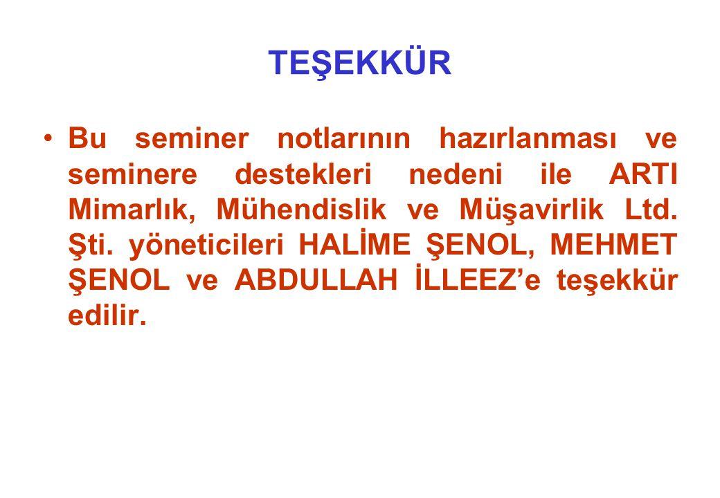 TEŞEKKÜR