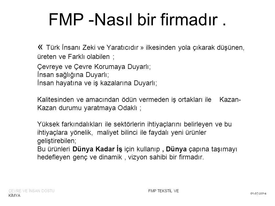 FMP -Nasıl bir firmadır .