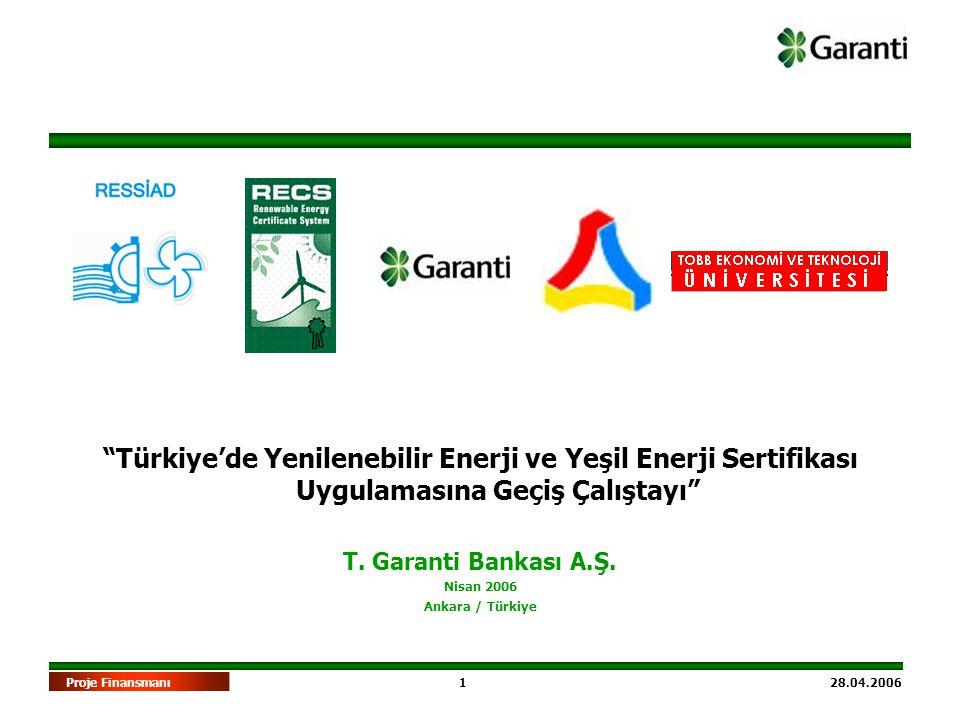 Türkiye'de Yenilenebilir Enerji ve Yeşil Enerji Sertifikası Uygulamasına Geçiş Çalıştayı