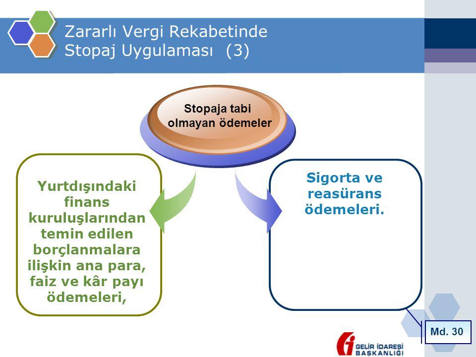 Zararlı Vergi Rekabetinde Stopaj Uygulaması (3)