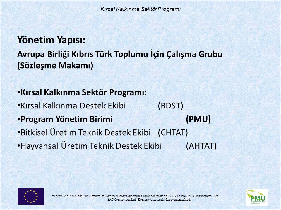 Nisan 17 Yönetim Yapısı: Avrupa Birliği Kıbrıs Türk Toplumu İçin Çalışma Grubu (Sözleşme Makamı)