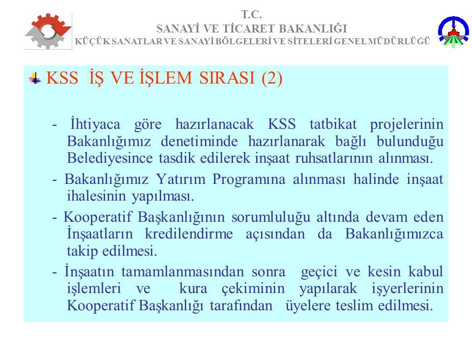 KSS İŞ VE İŞLEM SIRASI (2)