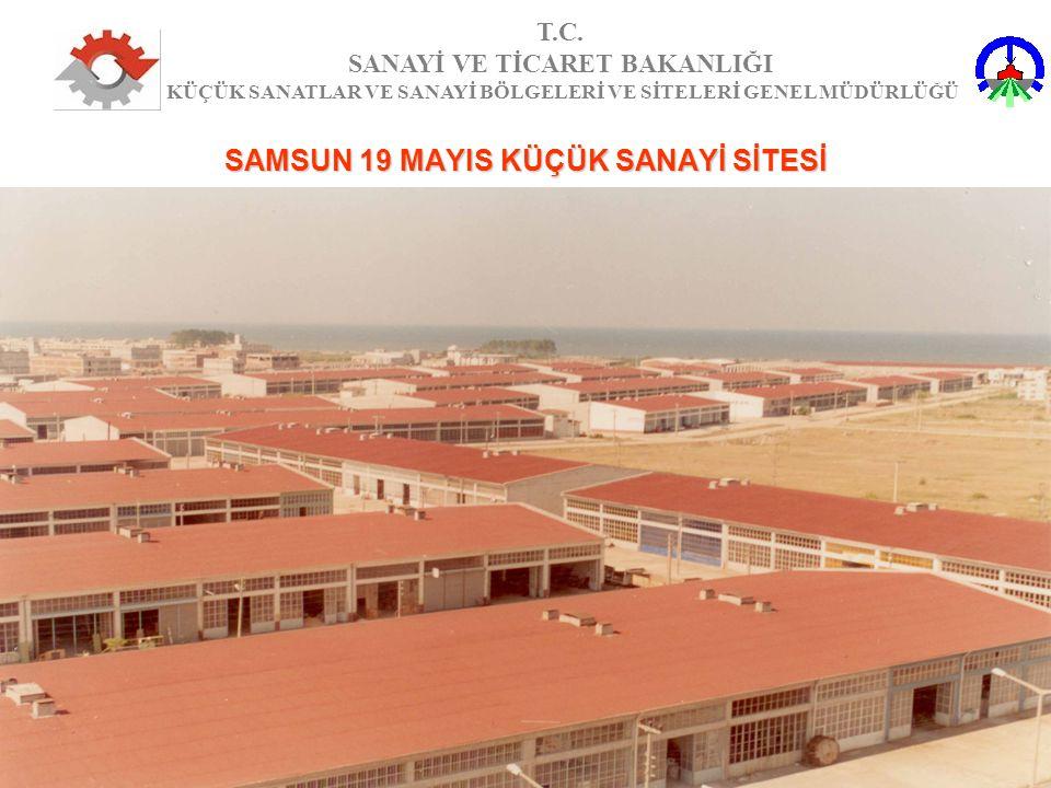 SAMSUN 19 MAYIS KÜÇÜK SANAYİ SİTESİ