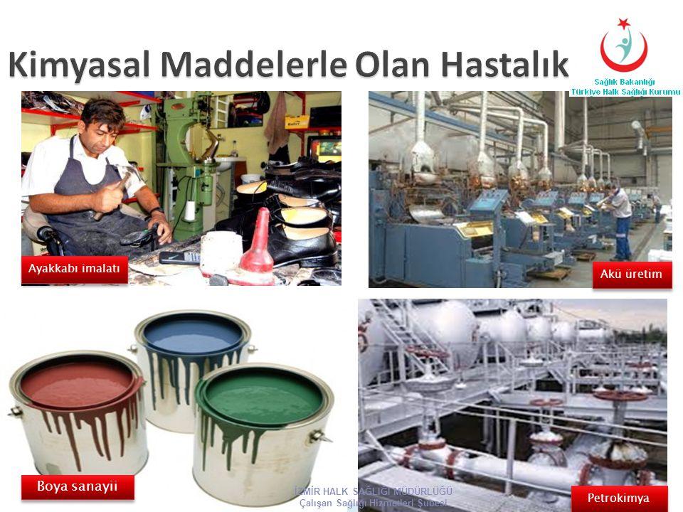 Kimyasal Maddelerle Olan Hastalıklar