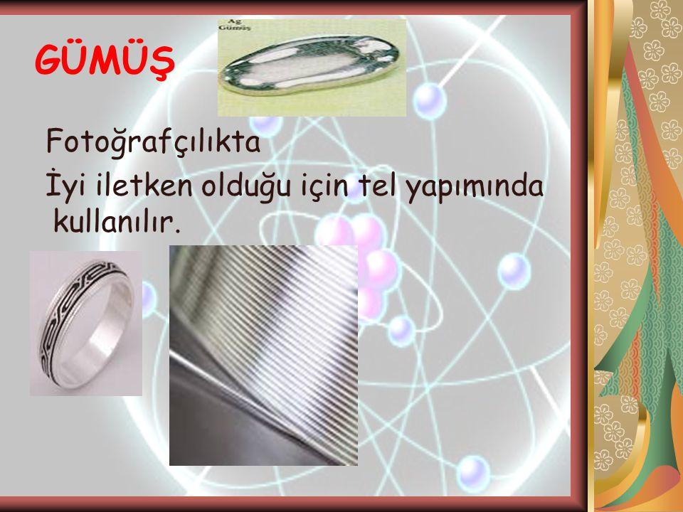 GÜMÜŞ Fotoğrafçılıkta