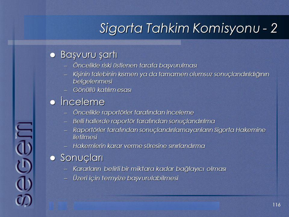 Sigorta Tahkim Komisyonu - 2