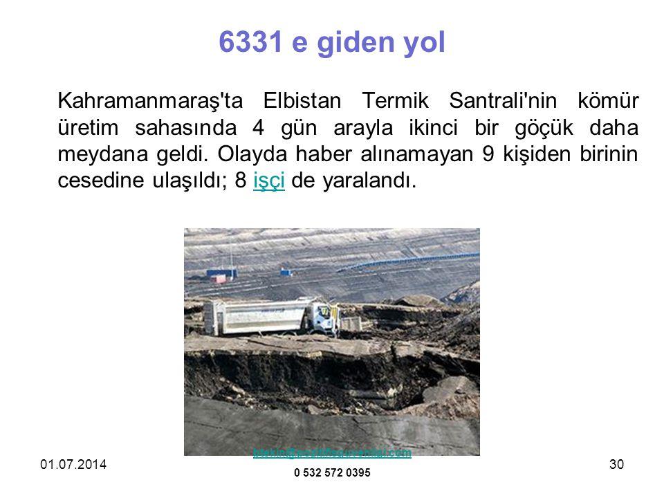 6331 e giden yol