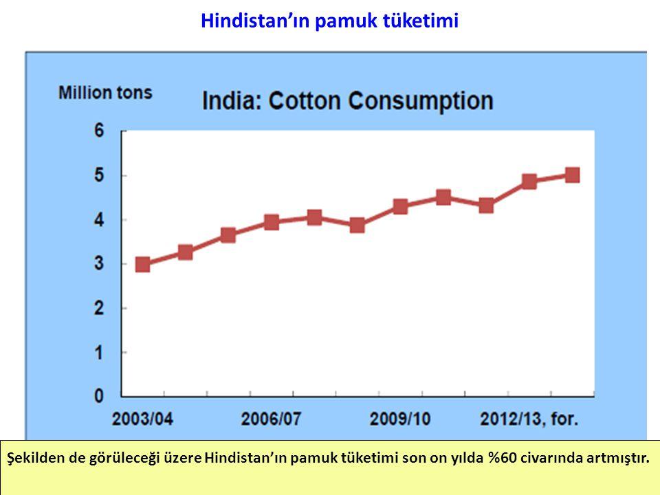 Hindistan'ın pamuk tüketimi